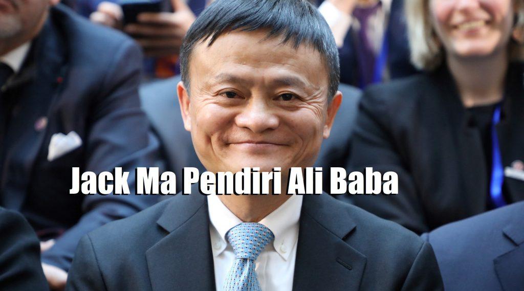 Jack Ma Pendiri Ali Baba